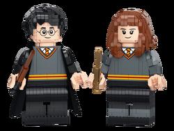 LEGO - 76393 LEGO Harry Potter™ Harry Potter ve Hermione Granger™