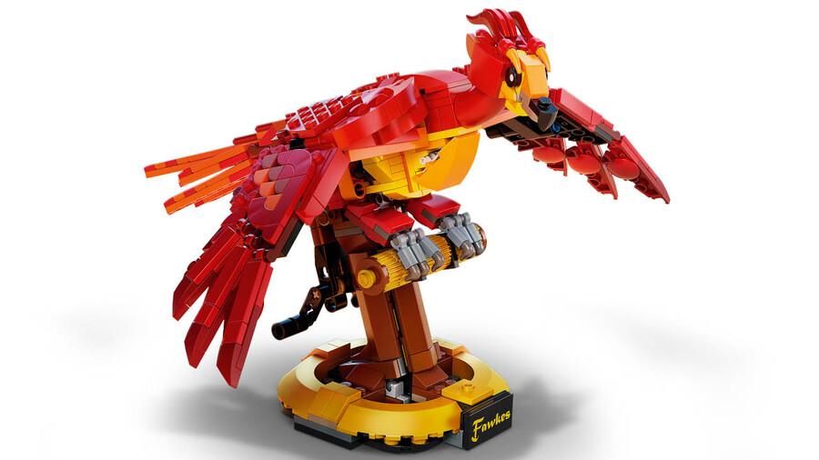 76394 LEGO Harry Potter™ Dumbledore'un Anka Kuşu Fawkes