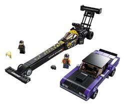 LEGO - 76904 LEGO Speed Champions Mopar Dodge//SRT Top Fuel Dragster and 1970 Dodge Challenger T/A