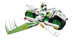 LEGO - 80006 White Dragon Horse Bike