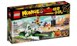 80006 LEGO Monkie Kid Beyaz Ejderha At Motosikleti - Thumbnail