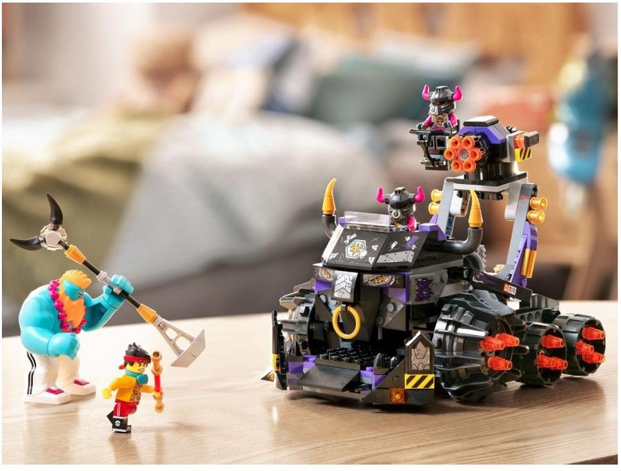 80007 LEGO Monkie Kid Demir Boğa Tankı