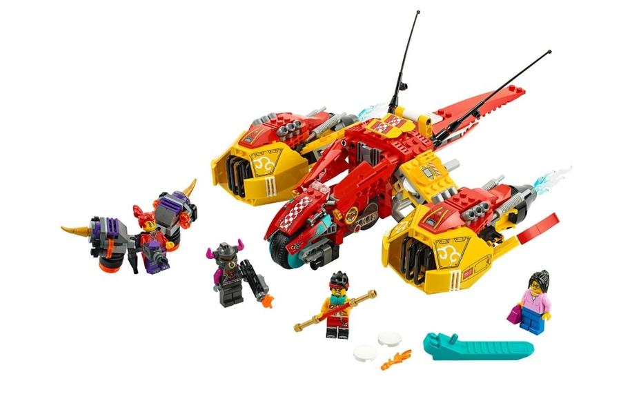 80008 LEGO Monkie Kid Monkie Kid'in Bulut Jeti