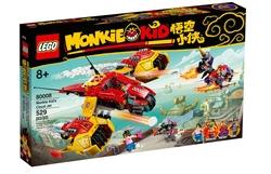 80008 LEGO Monkie Kid Monkie Kid'in Bulut Jeti - Thumbnail
