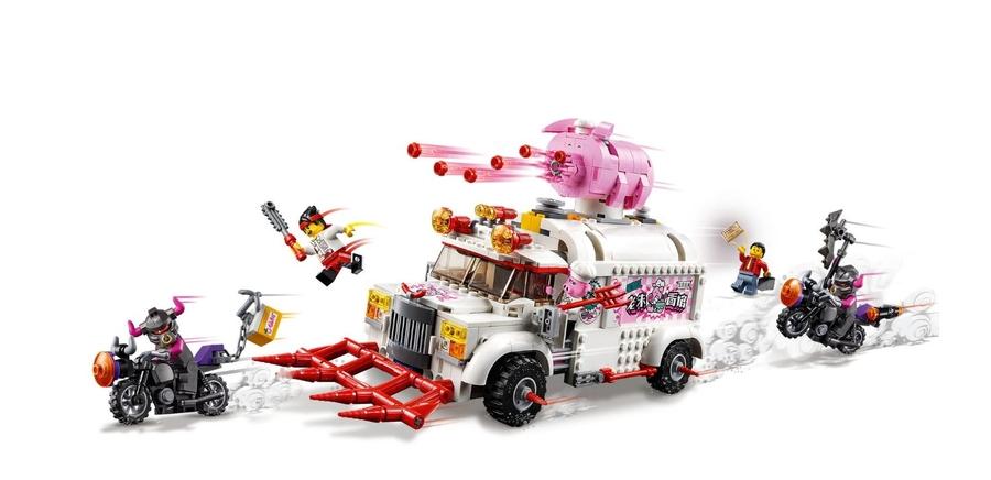 80009 LEGO Monkie Kid Pigsy'nin Yiyecek Kamyonu