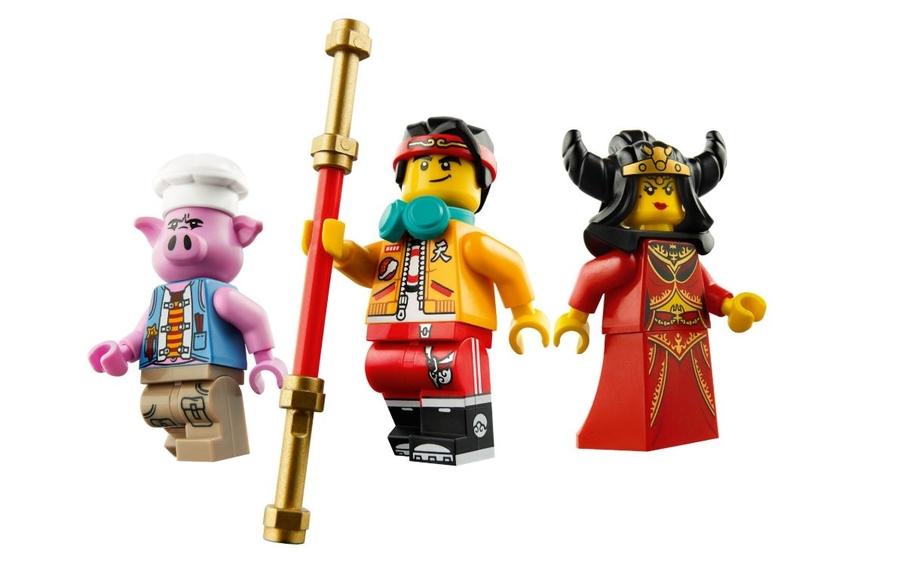 80010 LEGO Monkie Kid Demon Bull King