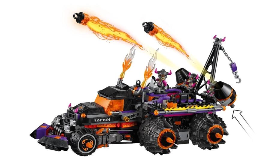 80011 LEGO Monkie Kid Red Son'un Cehennem Kamyonu