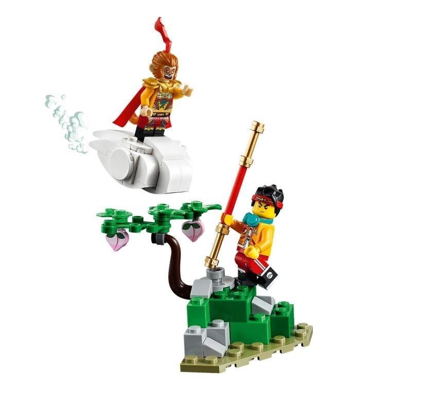 80012 LEGO Monkie Kid Monkey King'in Savaşçı Robotu
