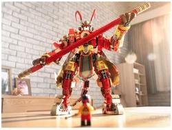 80012 LEGO Monkie Kid Monkey King'in Savaşçı Robotu - Thumbnail