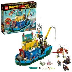 LEGO - 80013 Monkie Kid's Team Secret HQ
