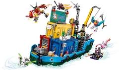 80013 LEGO Monkie Kid Monkie Kid Ekibinin Gizli Karargahı - Thumbnail