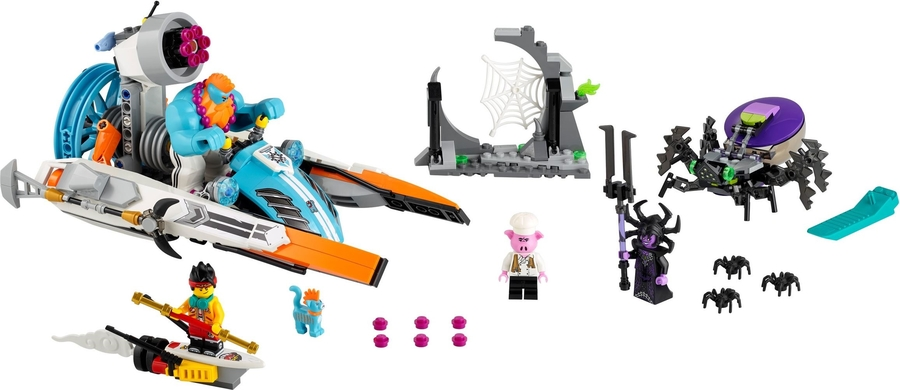80014 LEGO Monkie Kid Sandy'nin Sürat Teknesi