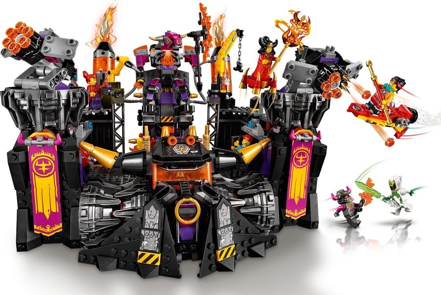 80016 LEGO Monkie Kid Alevli Dökümhane