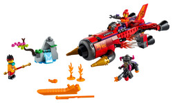 LEGO - 80019 Red Son's Inferno Jet