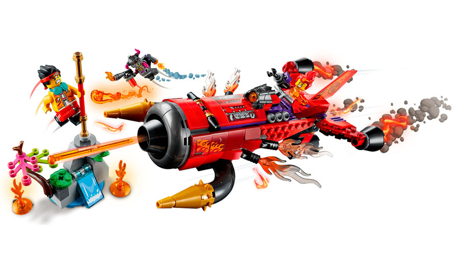 80019 Red Son's Inferno Jet