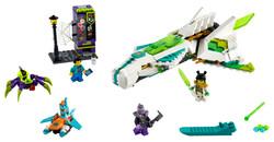 LEGO - 80020 White Dragon Horse Jet