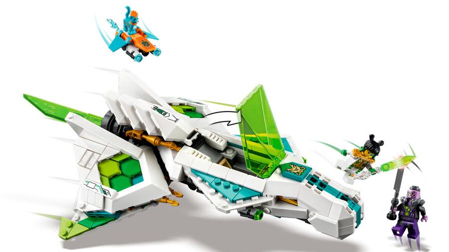80020 White Dragon Horse Jet