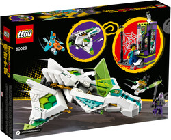 80020 White Dragon Horse Jet - Thumbnail