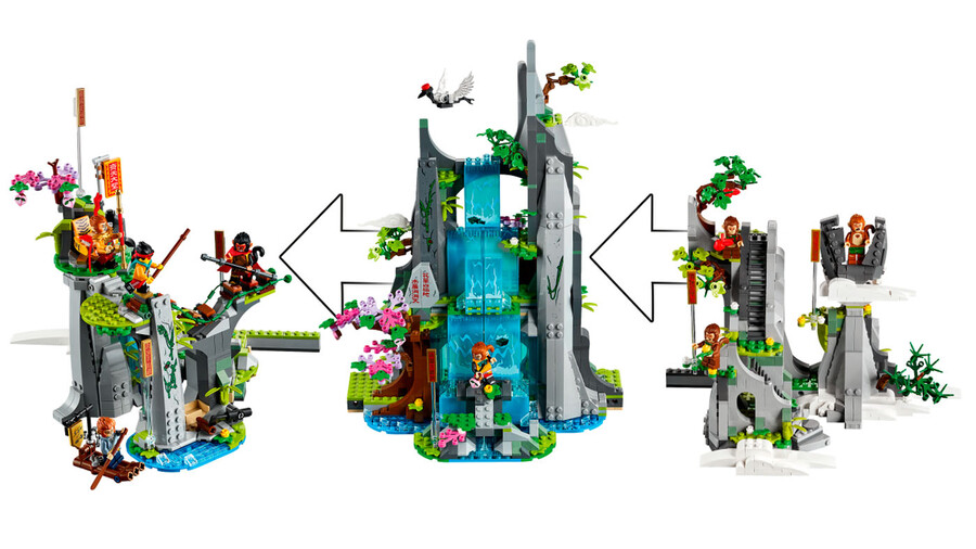 80024 LEGO Monkie Kid Efsanevi Çiçek Meyve Dağı