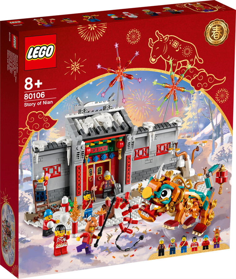 80106 LEGO Chinese Festivals Nian'ın Hikayesi