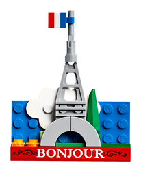 LEGO - 854011 Eiffel Tower Magnet Build