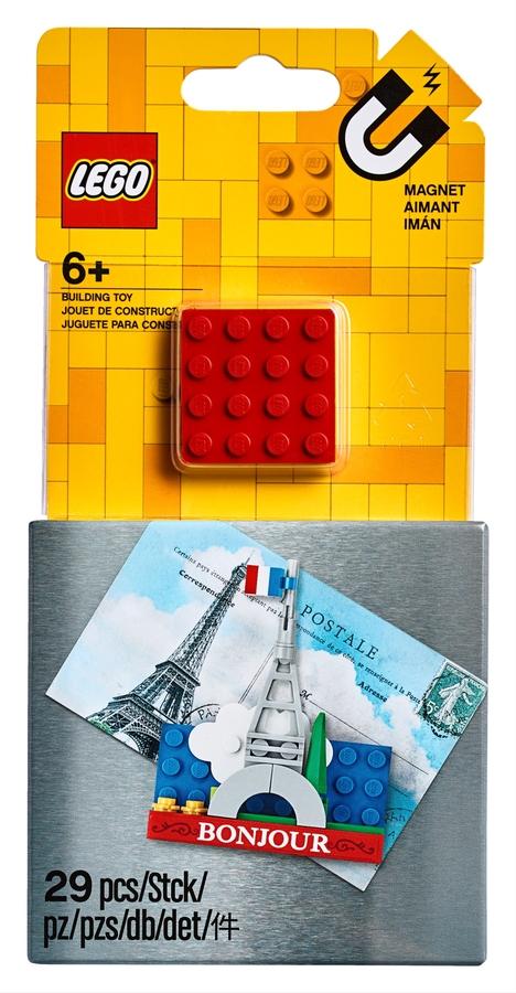 854011 Eiffel Tower Magnet Build