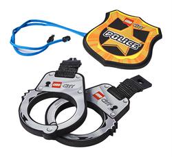 LEGO - 854018 Police Handcuffs & Badge