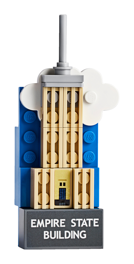 854030 Empire State Magnet Build