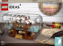 92177 LEGO Ideas Şişede Gemi - Thumbnail