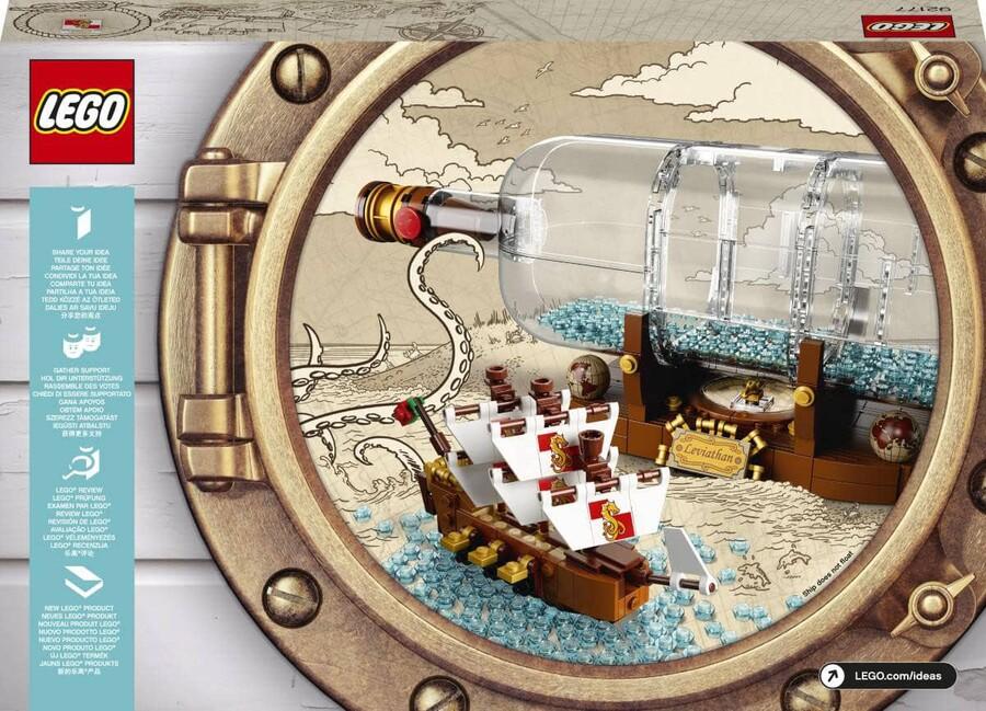 92177 LEGO Ideas Şişede Gemi