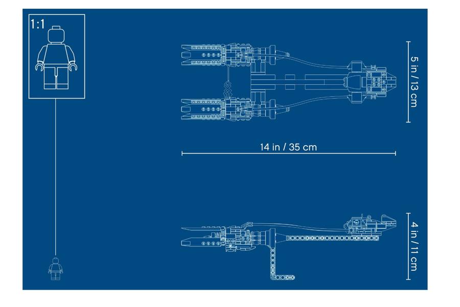 75258 Anakin's Podracer™ – 20th Anniversary Edition