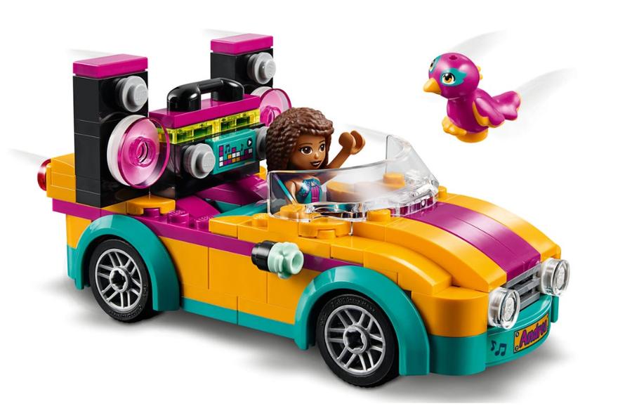 41390 LEGO Friends Andrea'nın Arabası ve Sahnesi