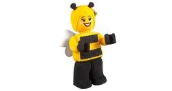 853802 Bee Girl Minifigür Peluş - Thumbnail