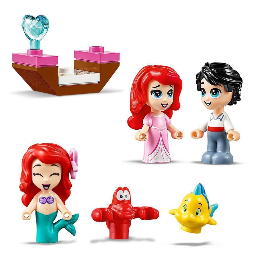 43176 LEGO | Disney Princess Ariel'in Hikâye Kitabı Maceraları