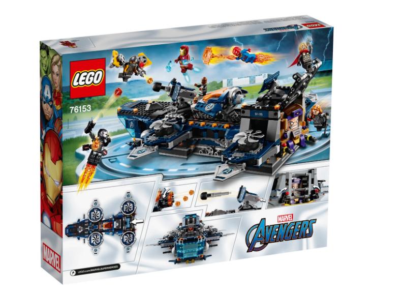 76153 LEGO Marvel Avengers Helikoptaşır