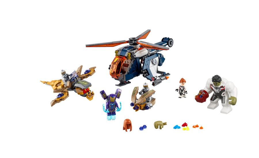 76144 Hulk Helikopterle Kurtarma