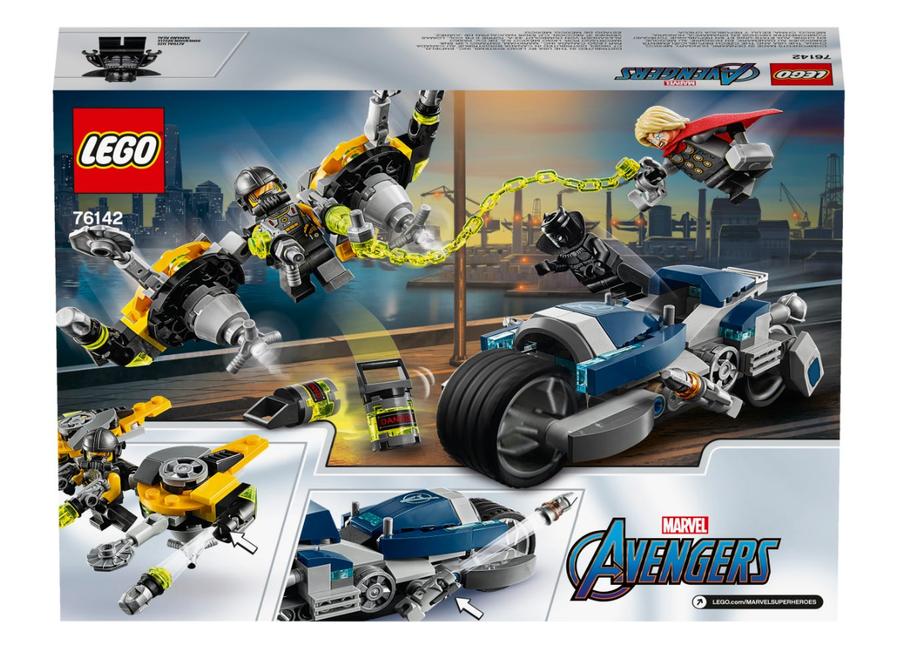 76142 Avengers Hız Motoru Saldırısı