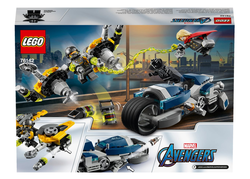 76142 Avengers Hız Motoru Saldırısı - Thumbnail