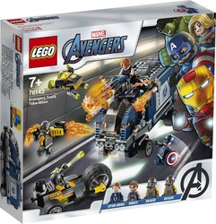 76143 LEGO Super Heroes Avengers Kamyon Saldırısı - Thumbnail
