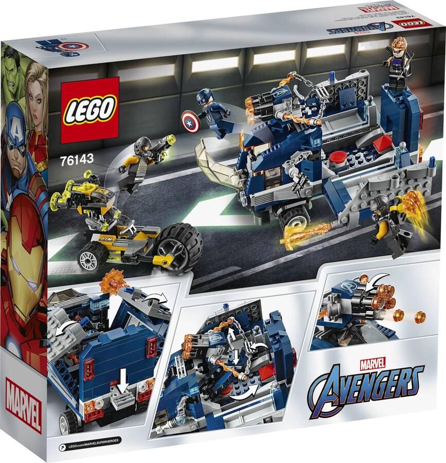 76143 LEGO Super Heroes Avengers Kamyon Saldırısı
