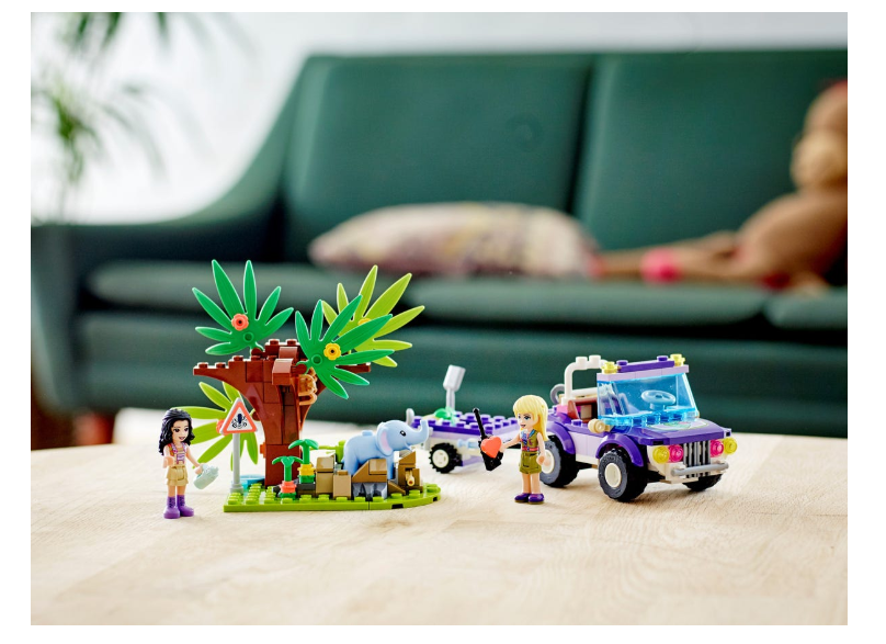 41421 LEGO Friends Yavru Fil Kurtarma Operasyonu