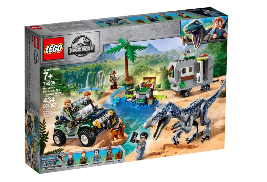 75935 LEGO Jurassic World Baryonyx Karşılaşması: Hazine Avı