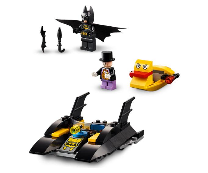 76158 LEGO DC Batboat Penguen Takibi