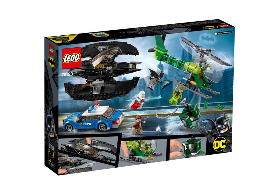 76120 Batman™ Batwing ve Riddler™'ın Soygunu