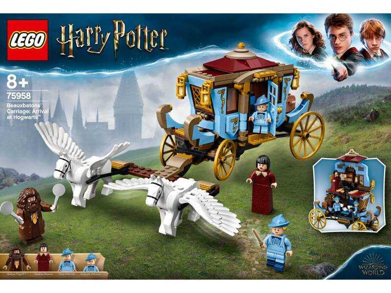 75958 Beauxbatons Arabası: Hogwarts™'a Varış