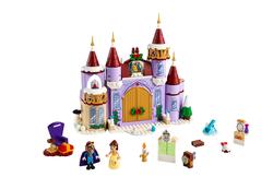 LEGO - 43180 LEGO Disney Princess Belle'in Şatosu Kış Kutlaması