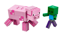 LEGO - 21157 BigFig Domuz ile Bebek Zombi