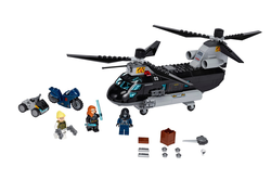 LEGO - 76162 Marvel Black Widow's Helicopter Chase