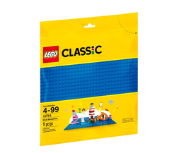 LEGO - 10714 Blue Baseplate (Mavi Zemin)