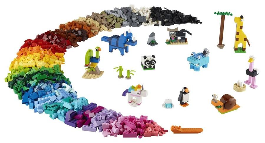11011 LEGO Classic Yapım Parçaları ve Hayvanlar